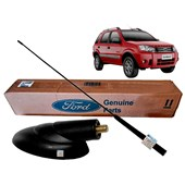 Base + Haste da Antena do Teto Ecosport 2010 2011 2012 2.0 Duratec Flex 16V YS5518828AA_95GP18A886AC
